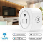 Home Smart Socket Wi-Fi Outlet Timer Plug Switch Works for Alexa Android IOS TY8