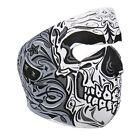 SUGAR SKULL Full Face Mask Motorcycle Halloween Snowboarding Skiing Biker ATV
