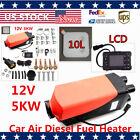 Sale 5000W Air Diesel Fuel Heater LCD Warmer Set 5KW fit Car Boat RV Motor-home