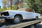 1963 CHEVROLET 2 DOOR HARD TOP.. PARTS CAR, LESS ENGINE AND TRANSMISSION