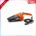 120W Car Vacuum Cleaner for Auto Portable Wet Dry Dirt Dust Handheld Duster Vac