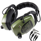 """DetectorPro Nugget Buster NDT Platinum Series Headphones w/ 1/4"""" Angle Connector"""