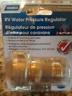Camco RV Brass Inline Water Pressure Regulator- Helps Protect RV Plumbing and Ho
