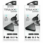 LOT 2 XTREME TECH TRAXXIT Bluetooth Tracker Key Finder
