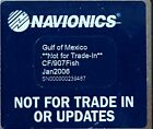 Navionics Compact Flash Card GULF OF MEXICO CF/907FISH