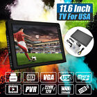 Portable 11.6'' TFT LED Handheld 16:9 ATSC Car Digital TV 1080P USB/AV/TF/HDMI