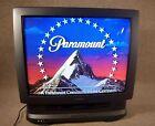 "Panasonic Retro Gaming TV, VHS Player, A/V Jack Input, 27"""