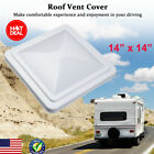 """RV Roof Vent Cover Top Lid Replacement Camper Trailer Fresh Air Ventilation 14"""""""