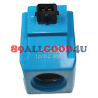 Solenoid Coil 477/00824 12V for JCB PS740 PS750 PS720 PS725 PS745 SS620 SS640