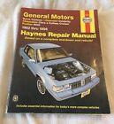 General Motors 1982 - 1996 Haynes Repair Manual 38005