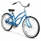 Beach Cruiser Bike Girls Womens Cruisers 26 Inch Bicycle Alloy Wheels Comfort