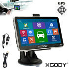 "5"" Car GPS Navigation Touch Screen FM Mp3 Mp4 New Map Built-in 4GB WinCE 6.0"