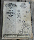 Briggs & Stratton Service Parts Repair Instructions 1975