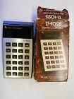 Vtg. Texas Instruments Calculator TI-1025 Orig. Box Works Needs 9-volt Battery