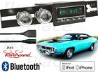 RetroSound 71-75 ROADRUNNER Model TWO-C Radio/BlueTooth/iPod/USB/3.5mm AUX-IN
