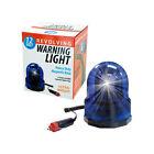 Warning Light 12 Volt Magnetic Base Revolving Warning Light 8' Coiled Cord