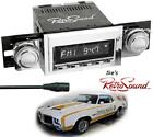 RetroSound 68,69 Olds Cutlass RC900c-2 Radio/3.5mm AUX-In for ipod/Push Button