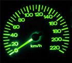 Subaru Impreza S 2001-2003 Green LED Dash Instrument Cluster Light Upgrade Kit