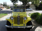 Willys : Jeepster Convertible Phaeton Restored 1950 Willys Jeepster 4cyl w/ Overdrive