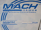 SHIFT AND THROTTLE CONTROL CABLES 3300 SERIES MACHZERO 216-MC0X48 48FT UNIVERSAL