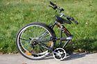 "NEW COLUMBA 26"" Folding Bike Shimano 18 speed Black (SP26S_BLK)"