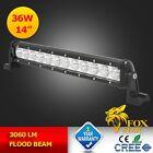 14inch 36W Cree LED Flood Work Light Bar Driving Lamp Offroad  4X4 18W/36W