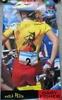 1996 Paola Pezzo Olympic Gold Medal Mountain Bike Winner  Poster Gary Fisher