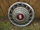 "Lincoln, Mercury 15"" Wire Spoke Wheel Cover Hub Cap"
