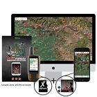 OnXmap Hunt INDIANA Prem. Map for Garmin GPS   Hunting GPS Maps   MicroSD Card