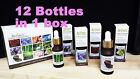 Ameli Fragrance Aroma Oil 20ml for Air Revitalizer 12 Bottles in 1 box