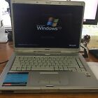"COMPAQ PRESARIO C300 80GB HD 512MB RAM 1.6GHz CPU WIFI Laptop Notebook 15.6"" DVD"