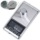 Pocket Digital Scale 0.1g x 1000g Jewelry Gem Gold Silver Coin OZ GN 30X Loupe