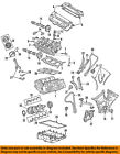 FORD OEM-Valve Cover Gasket 6L8Z6584B