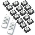 DC 12V 1 Transmitter 15x1 Channel Relays Wireless Remote Control Switch