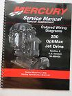 Mercury -  90-888438 Service Repair Shop Manual Wiring diagrams 250 OptiMax Jet