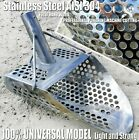 *Alligator* 2mm Stainless Steel Beach Sand Scoop Metal Detecting Hunting Tool