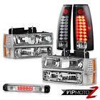 94-98 Silverado 3500 High Stop Light Taillights Corner Lamps Signal Headlights