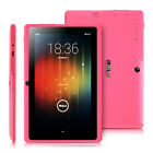"iRULU 7"" Tablet PC Android 4.4 1.5GHz Quad Core 8GB 2.0MP Cameras WIFI Pink HD"