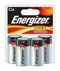 Energizer MAX Alkaline Batteries, Size C, 4-Pack E93BP4