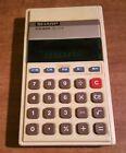 Vintage Sharp Electronic Calculator Elsi Mate EL 215