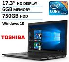 """2016 New Edition Toshiba Satellite 17.3"""" High Performance Laptop with Flagshi..."""