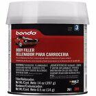 Auto Body Filler 14 Oz Metal Car Boat Bondo Cream Hardener Automotive Kit