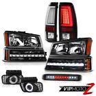 03-06 Silverado 3500Hd Tail Lamps Roof Brake Light Headlamps Foglights Parking
