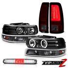 99 00 01 02 Silverado 4WD Taillamps Roof Brake Lamp Parking Headlights Light Bar