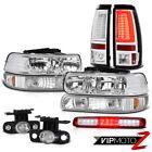 1999-2002 Silverado 3500HD Taillights Signal Lamp Headlamps Roof Cargo Foglamps