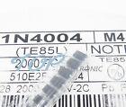 100PCS LL4004 M4 1N4004 DO-214 SMD 1A 400V Rectifier Diodes Good