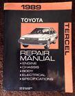 Toyota Tercel 1989 Factory Repair Manual