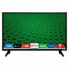 "24"" LED TV Back to College Smart TV Black D-Series Built-in Wifi Movies, Music"