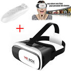 3D Glasses VR Box Headset Google Cardboard Virtual Reality +Bluetooth Control US