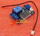 12V LED Digital Display Trigger Time Delay relay Module 0-999s External Trigger